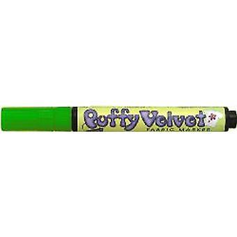 Uchida Puffy Velvet Marker - Grön