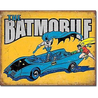 Batmobile retro-tin-merkki