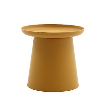Yksinkertainen moderni pyöreä sohvapöytä