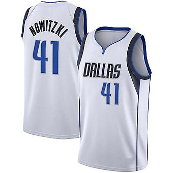 Nowitzki Loose Basketball Jersey Camicie Sportive Camicie Uomo Quick-drying Basketball Uniform Tops