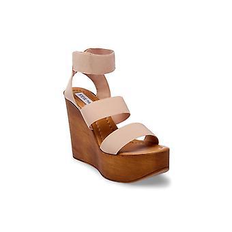 Steve Madden Womens Blondy Open Toe Casual Platform Sandals