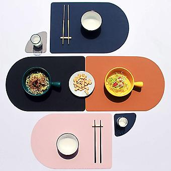 Dining table mat restaurant non-slip waterproof heat-resistant mats