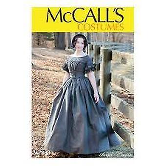 McCalls Schnittmuster 7988 Misses Historische Kostüme Größe 14-22