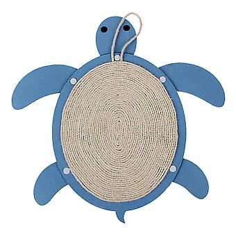 Nayeco Scraper Blue Turtle Pendant (Cats , Toys , Scratching Posts)
