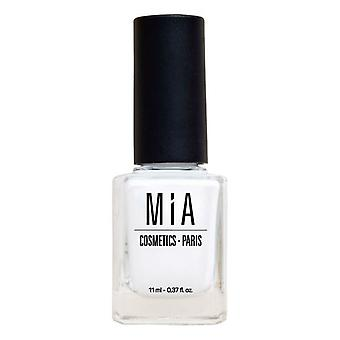 Nagellack Mia Cosmetics Paris Frost White (11 ml)