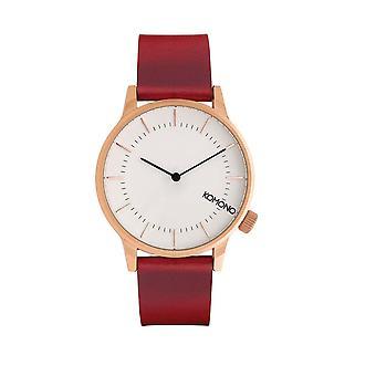 KOMONO Winston regal regal rubino - reloj unisex