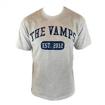 The Vamps Team Vamps Grey T Shirt Large