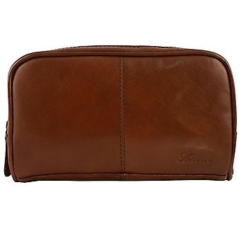 High Quality Genuine Leather Toiletry Bag