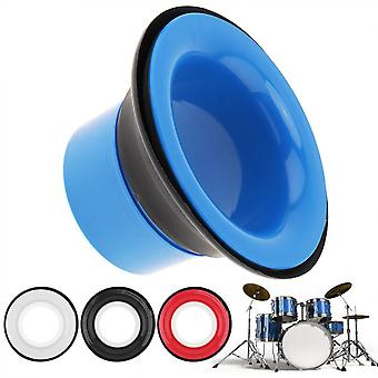17.3 X 10 x 10cm 3 colors drum bottom microphone bass loudspeaker drum accessories bass hole protection percussion spare parts