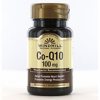 Windmill Health Co-Q 10, 100 mg, 30 Caps