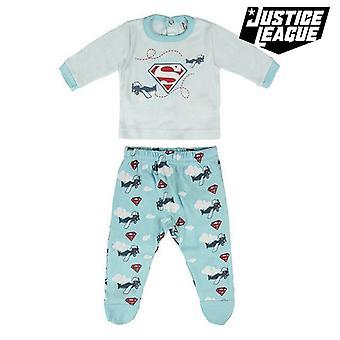 Children's Pyjama Superman Light blue