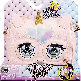Purse Pets Glamicorn Unicorn Interactive Purse Pet with Over 25 Sounds and Reactions