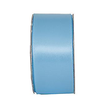 LAST FEW - Ruban d'artisanat en satin de 3m apaisant bleu 25mm de large