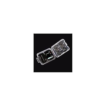 Organizadora de caixas de armazenamento de cartão de memória para cartão SD TF Cartão Memory Stick
