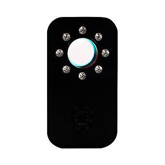 反スパイカメラ検出器カメラ検出器スパイカメラファインダーポータブル隠しカメラ検出器のファインダーデバイスオフィスのホテルの部屋のバスルーム、(黒)