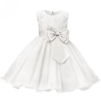 Princeznovské šaty - Bílá - Velikost 120