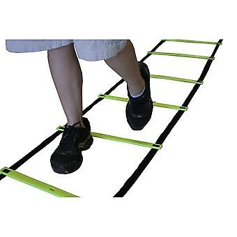 Ámbar atlético engranaje velocidad y agilidad entrenamiento escalera alta intensidad entrenamiento boxeo fútbol 30 Ft