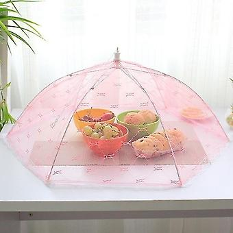 Food container covers umbrella style food cover anti fly mosquito meal cover