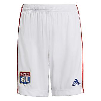 2021-2022 Lyon Home Shorts (White)