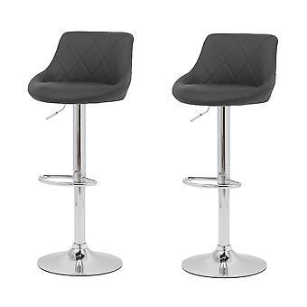 2 pcs Bar Chair Tall Stool Bar Chair for Kitchen Bar Chair Iron Art High Chair Bar Stool Chair