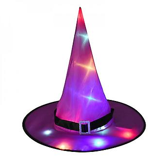 Halloween Decoration Led Lights Witch Hat