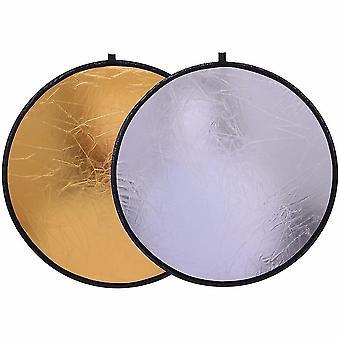 Handhold Collapsible And Portable Disc Light Reflector For Photography