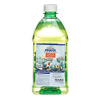 PondCare PimaFix Antifungal Remedy for Koi & Goldfish - 64 oz (Treats 9,600 Gallons)