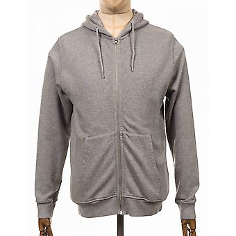 Colorful Standard Organic Cotton Hooded Jacket - Grey Heather
