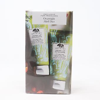 Origins Drinks Up Intensive Overnight Mask Duo  / New With Box