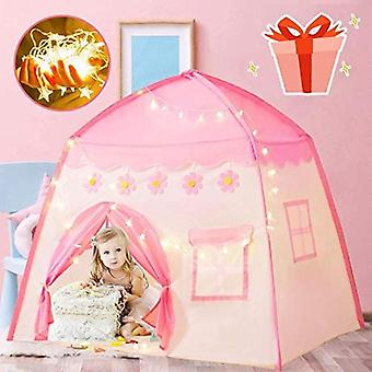 Kids Tent Ball House Children's Tent Pink LED Light / Decoration / Storage Bag Indoor Assembly Type