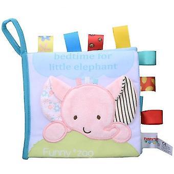 Develop Cognize Reading Puzzle Book Toys Infant Quiet For Kids