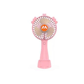 Desk pedestal fans handheld small fan student dormitory out portable angle adjustment mute usb fan with phone