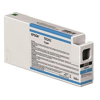 Toner inkjet cartridges c13t824200 t8242 ink cartridge cyan  350ml