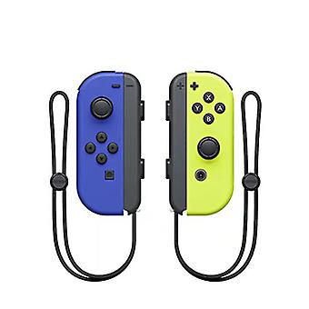 Portable Wireless Bluetooth Joy-con L/r Controller Compatible With Nintendo Switch-blue Yellow