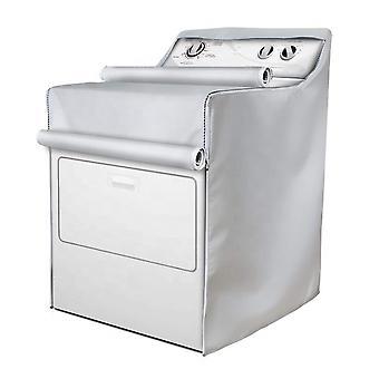 Swotgdoby Waterproof Sunscreen Washing Machine Dust Cover, Drum Washing Machine Protector