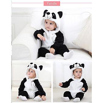 Panda  Baby Rompers Panda Newborn Clothes Baby Girls Boys Romper Infant Clothing Winter Jumpsuit Toddler Baby's Sets Unicorn Pajamas