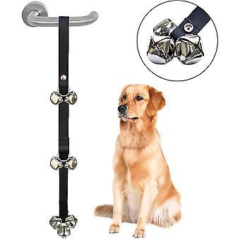 Adjustable Pet Dog Potty Toilet Training Door Bell Housetraining Housebreaking Puppy