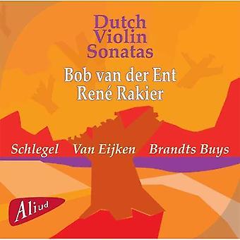 Van Der Ent / Schlegel / Eijken - Dutch Violin Sonatas: Schlegel, Van Eijken, Buys [CD] USA import