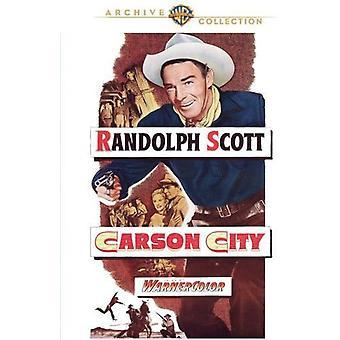 Importación de Estados Unidos Carson City [DVD]