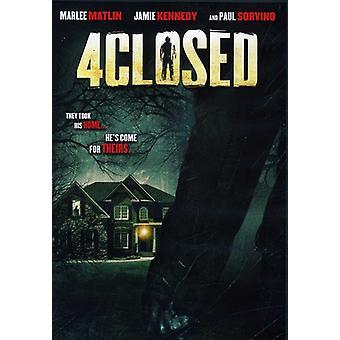 4Closed 【 DVD 】 USA 輸入
