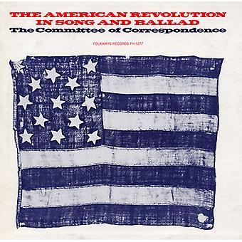 Committee of Correspondence - American Revolution in Song & Ballad [CD] USA import