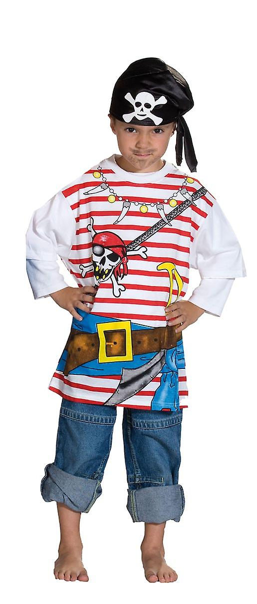 Pirate Costume skjorte barna pirat kostyme t skjorte   Fruugo NO