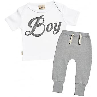 Verwend rotte Boy Baby T-Shirt & Joggers Outfit Set