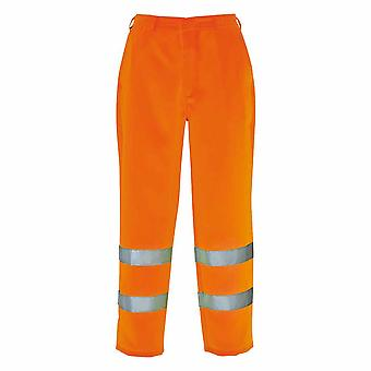 Portwest - Hi-Vis Safety Workwear Poly-cotton Trousers
