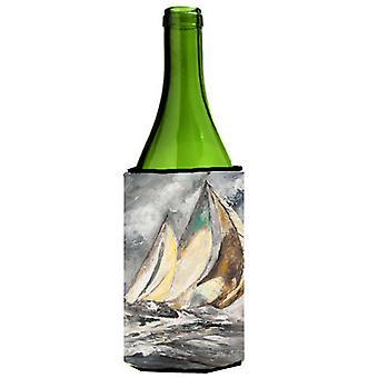 Barco velero completo botella de vino bebidas aislador Hugger