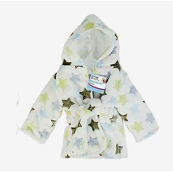 First Steps Baby Hooded Robe One Size