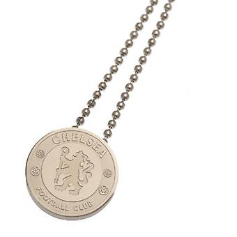 Chelsea Stainless Steel Pendant & Chain