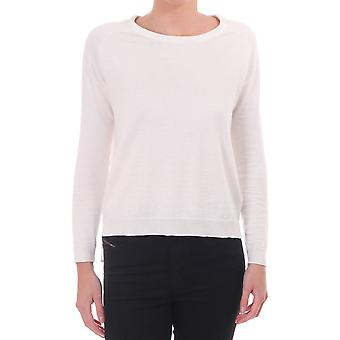 AM London Knitted Jumper With Chiffon Back