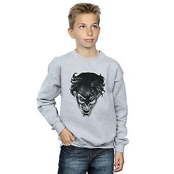 DC Comics Boys The Joker Spot Face Sweatshirt