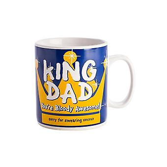 King Dad Giant Mug